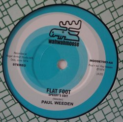 "画像1: HORNE SINGERS、PAUL WEEDEN / FLAT FOOT (7"")♪"