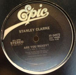 "画像1: STANLEY CLARKE / ARE YOU READY? (12"")♪"