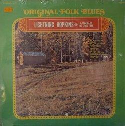 画像1: LIGHTNIN HOPKINS / ORIGINAL FOLK BLUES LEGENDARY FOLK BLUES (LP)♪