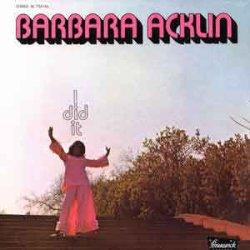 画像1: BARBARA ACKLIN / I DID IT (LP)♪
