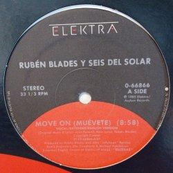 """画像1: RUBEN BLADES Y SEIS DEL SOLAR / MOVE ON (MUEVETE) (12"""")♪"""