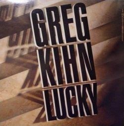 "画像1: GREG KIHN / LUCKY (12"")♪"
