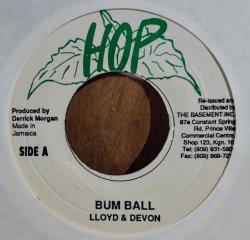 """画像1: LLOYD & DEVON / BUM BALL (7"""")♪"""
