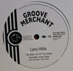 "画像1: LARRY WILLIS / OUT ON THE COAST、INNER CRISIS (7"")♪"