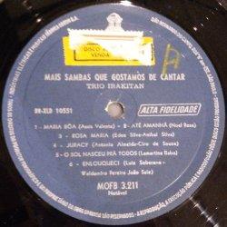 画像2: TRIO IRAKITAN / MAIS SAMBAS QUE GOSTAMOS DE CANTAR (LP)♪