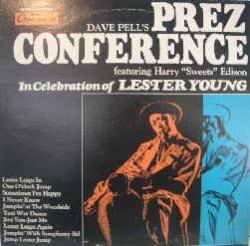 画像1: JOE WILLIAMS / DAVE PELL'S PREZ CONFERENCE (LP)♪